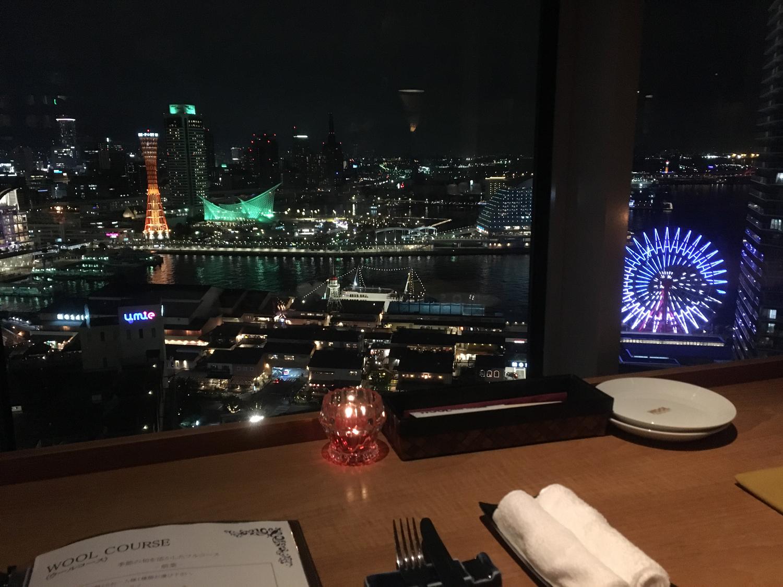 お高めレストランでの食事