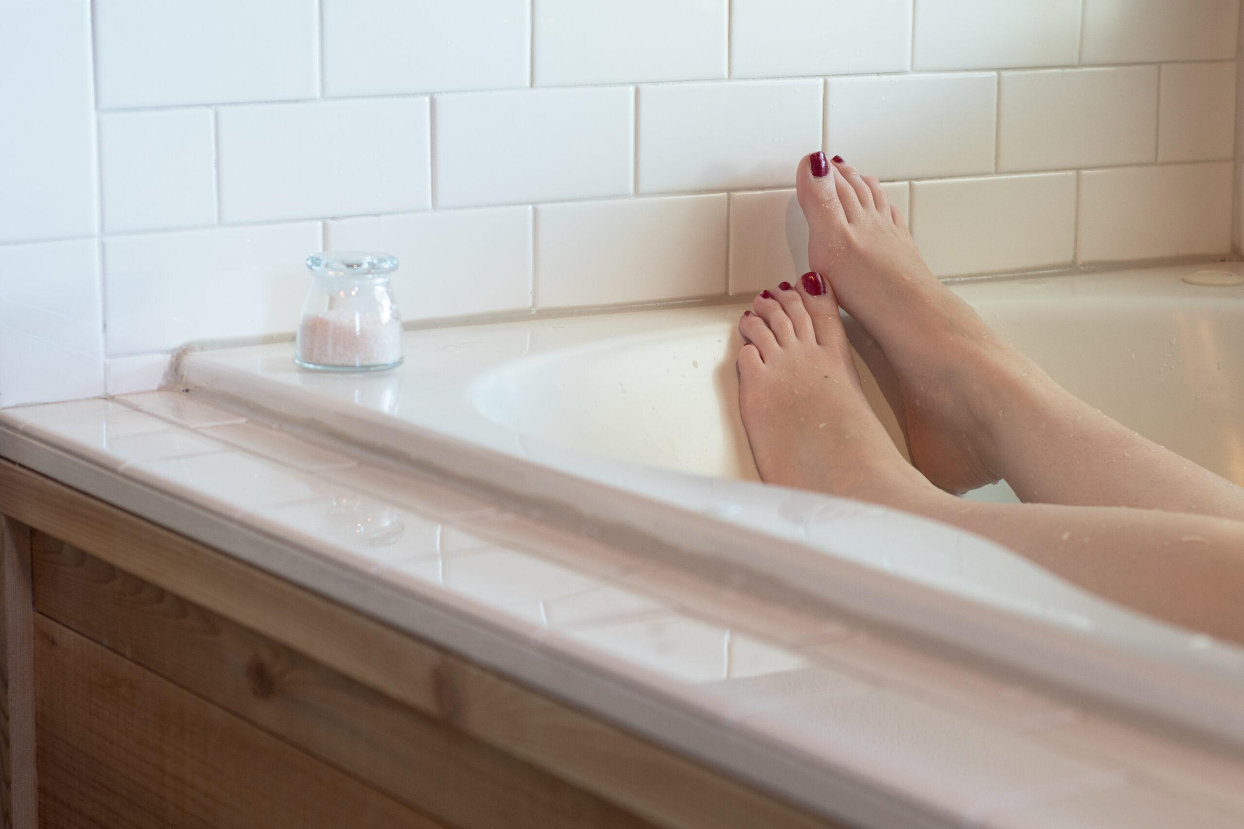 お風呂で剃る