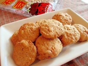 節分豆の残りで♪お豆の恵みザクザククッキー