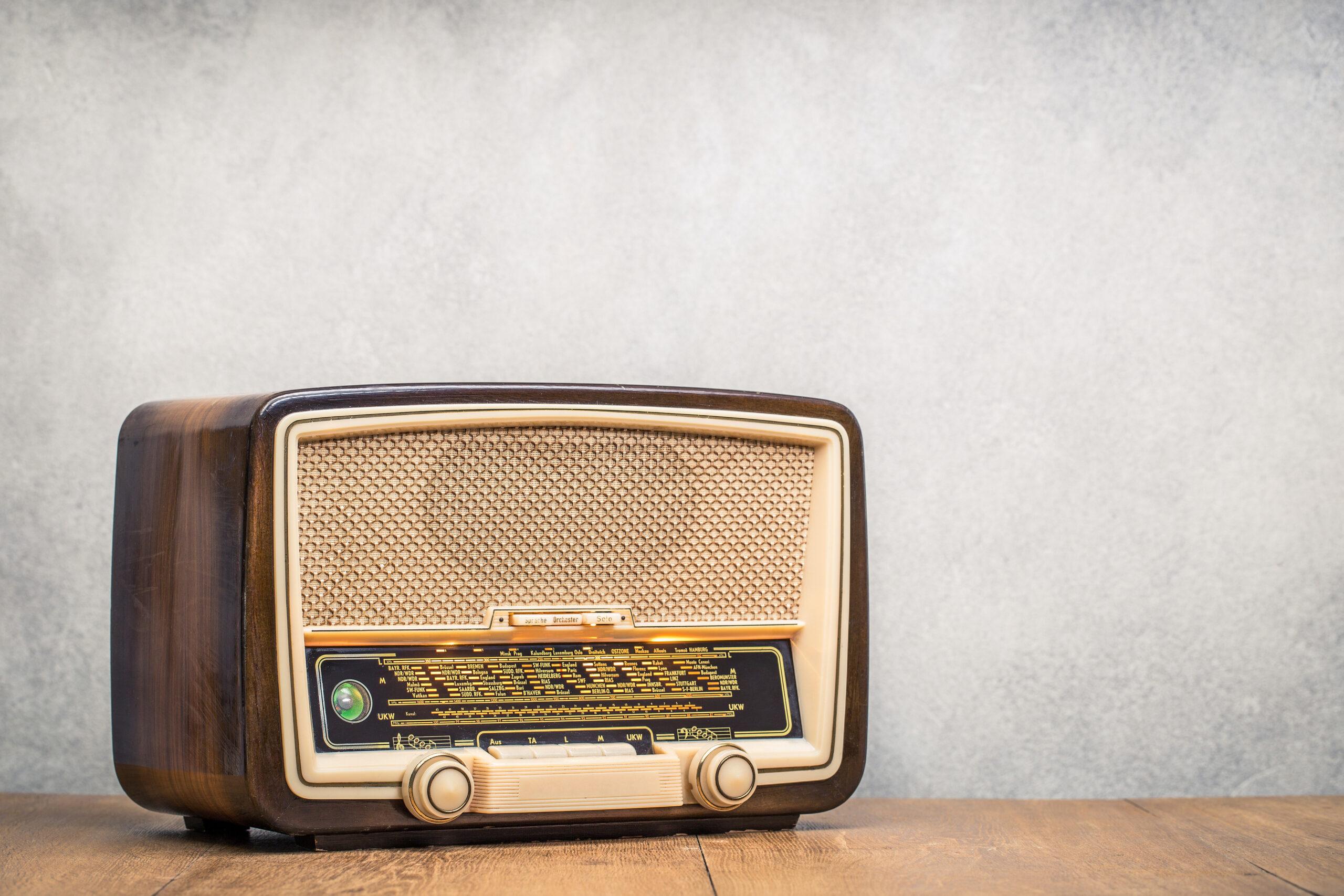 ラジオでモチベーションUP!