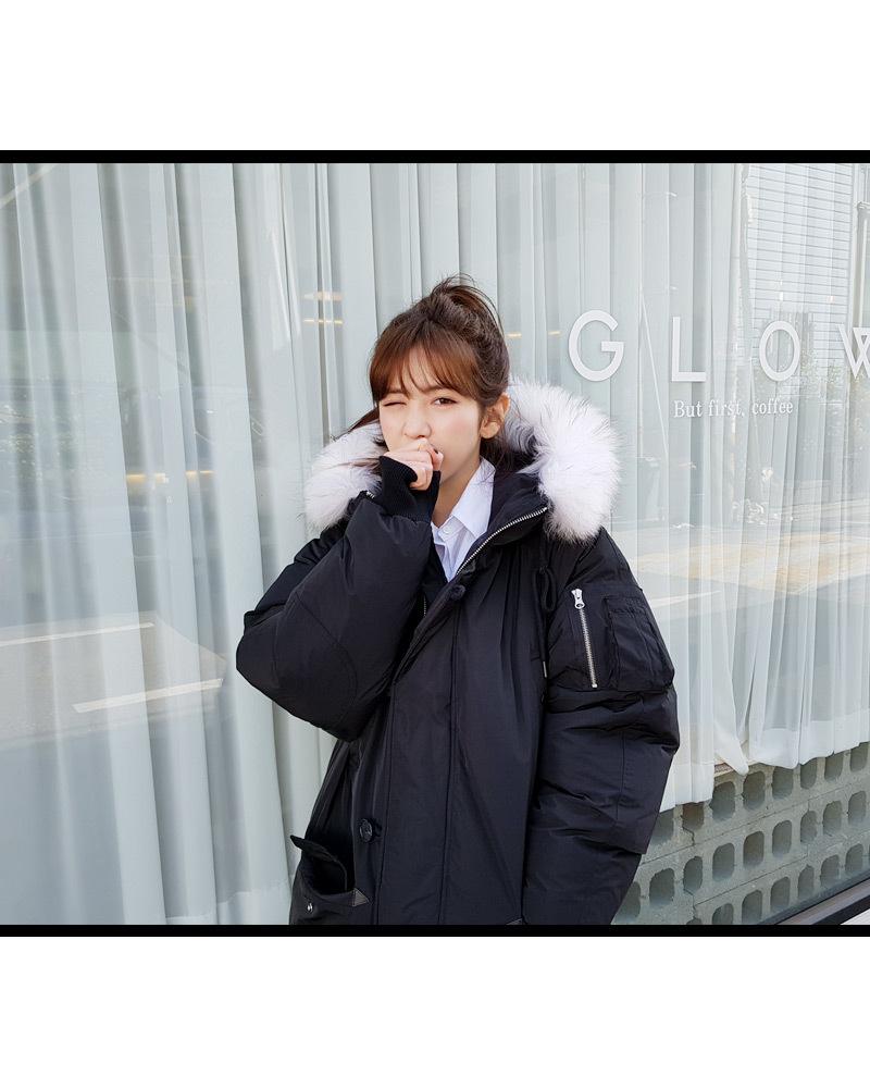 韓国発通販サイトDHOLICに学ぶ!ダウンコートを女度高めに着こなすコーデ術♡
