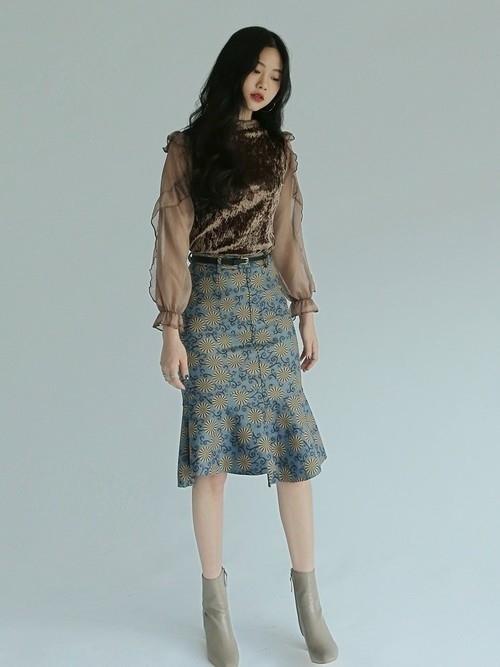 """スタイルよきな""""女性""""になりたいの。マーメイドスカートで大人の魅力と脚長効果をゲットせよ"""