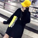 """その名も""""下衣失踪ファッション""""。韓国の定番脚見せコーデ術を覗き見♡"""