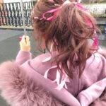 ヘアカラーを可愛くすればいつもの服もLevel up?ピンクとパープルの髪色お洒落対決