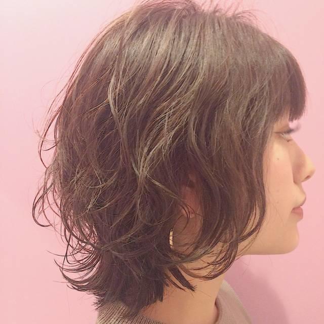 最近前髪を作った
