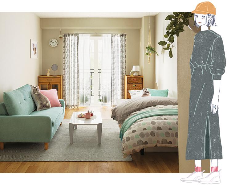 (♡)Bのあなたにオススメのお部屋