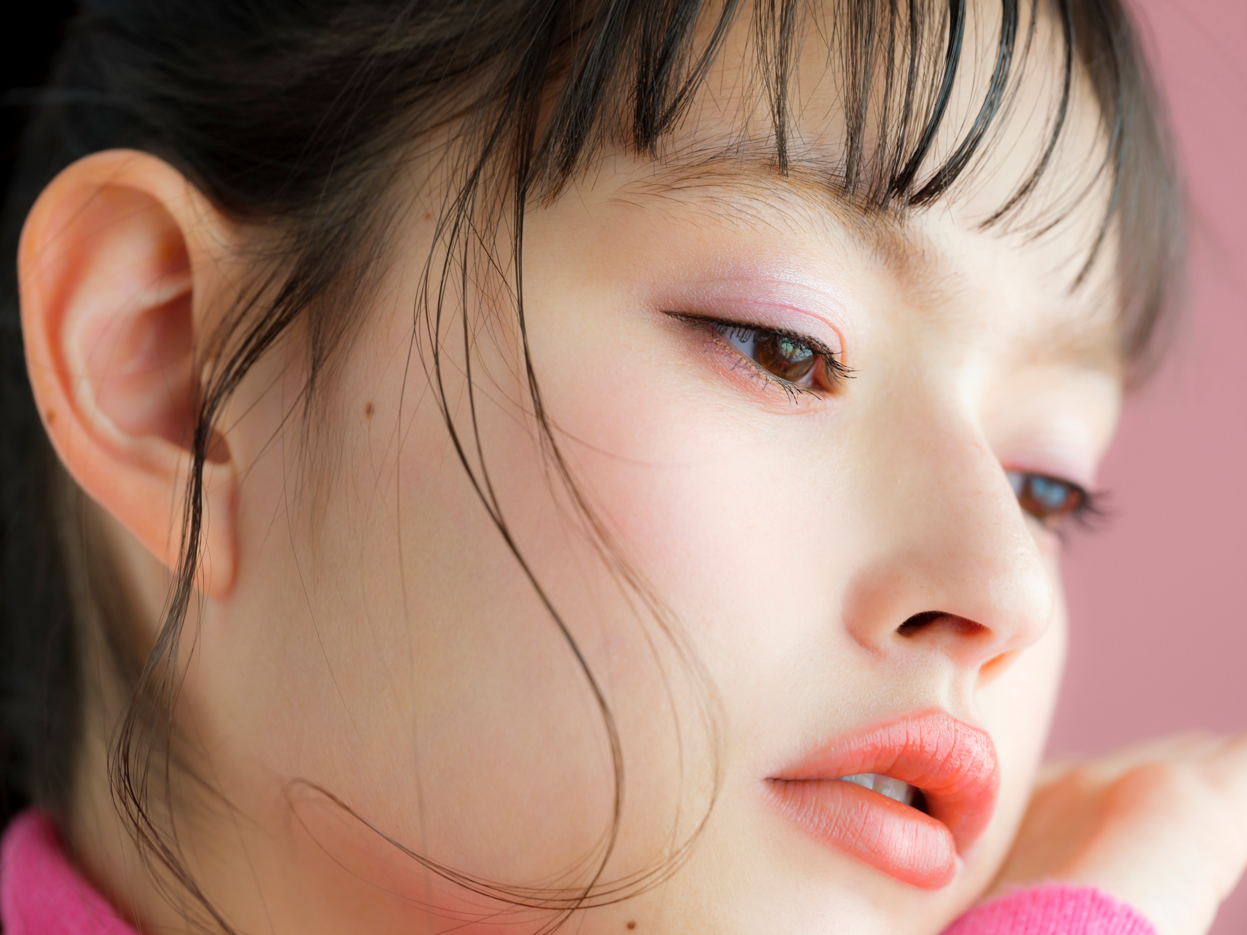 Eye & Skin:ピンクを使ってふんわり仕上げる