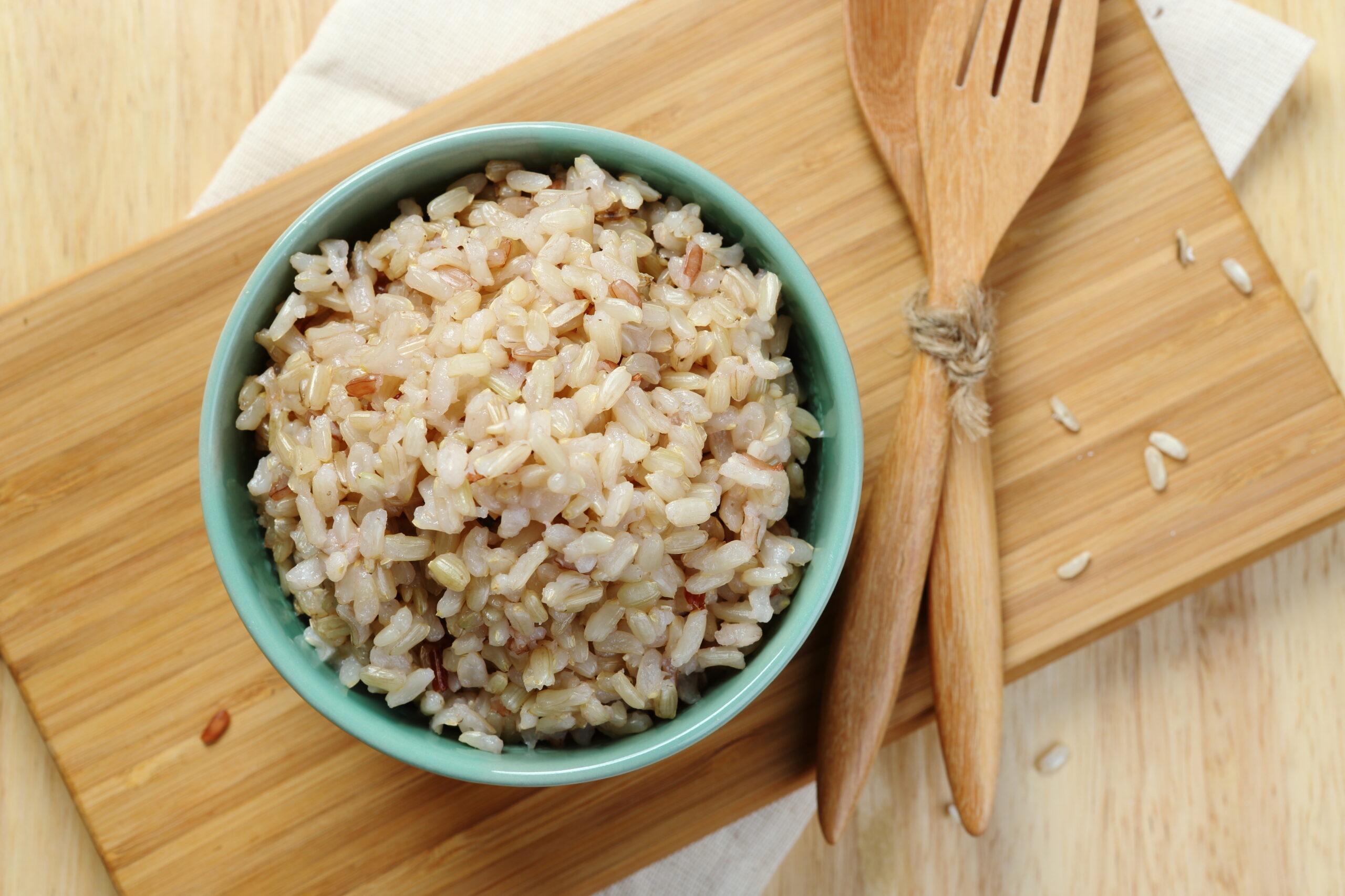白米→玄米にチェンジ!