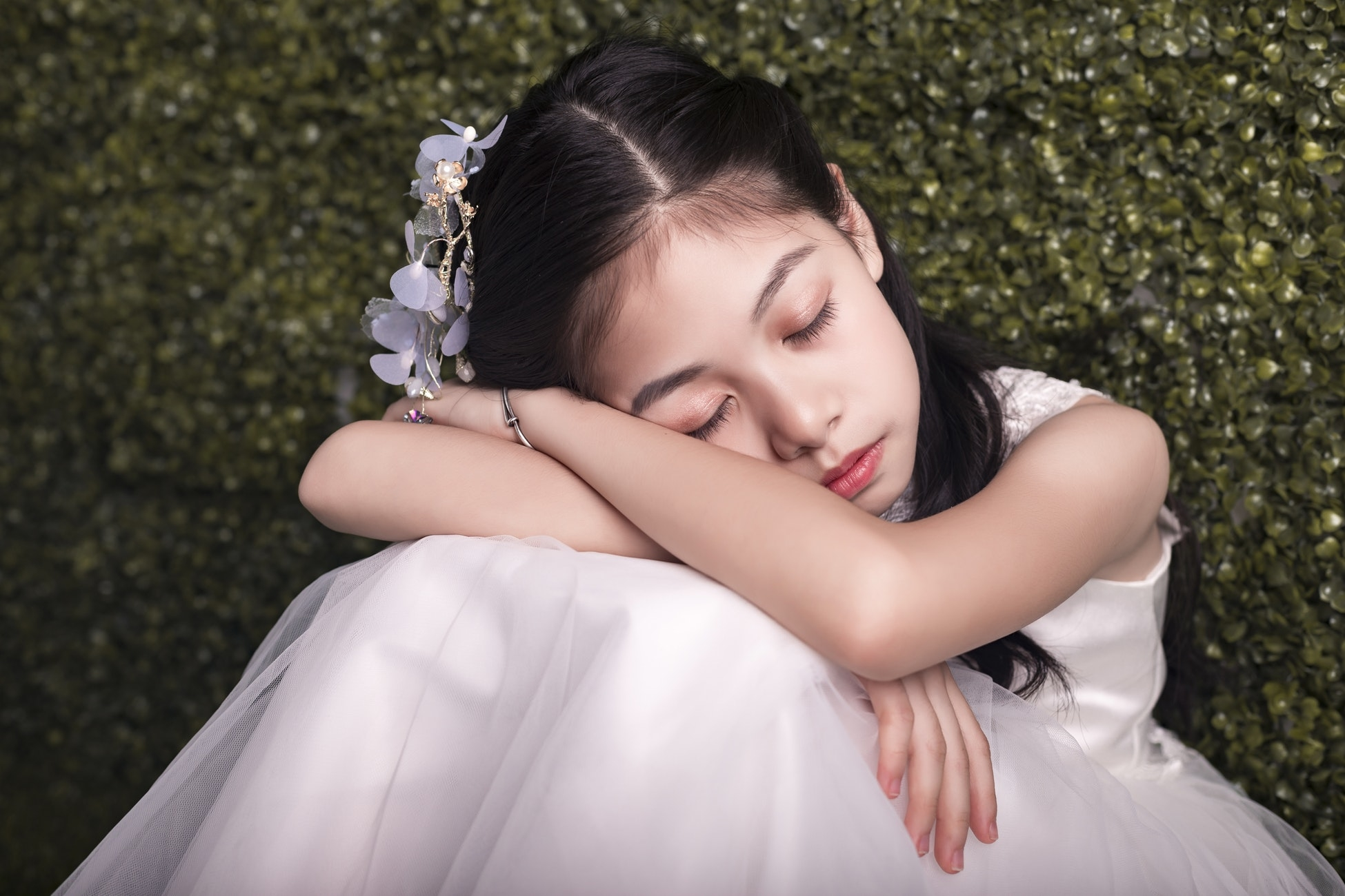 お泊まりデートで気を付けたいこと:寝顔