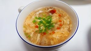 もずく酸辣湯スープ