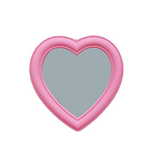 ホームデコレーションミラー ピンク