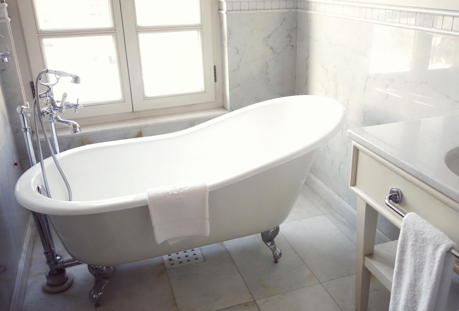 step5:お風呂場でスキンケア