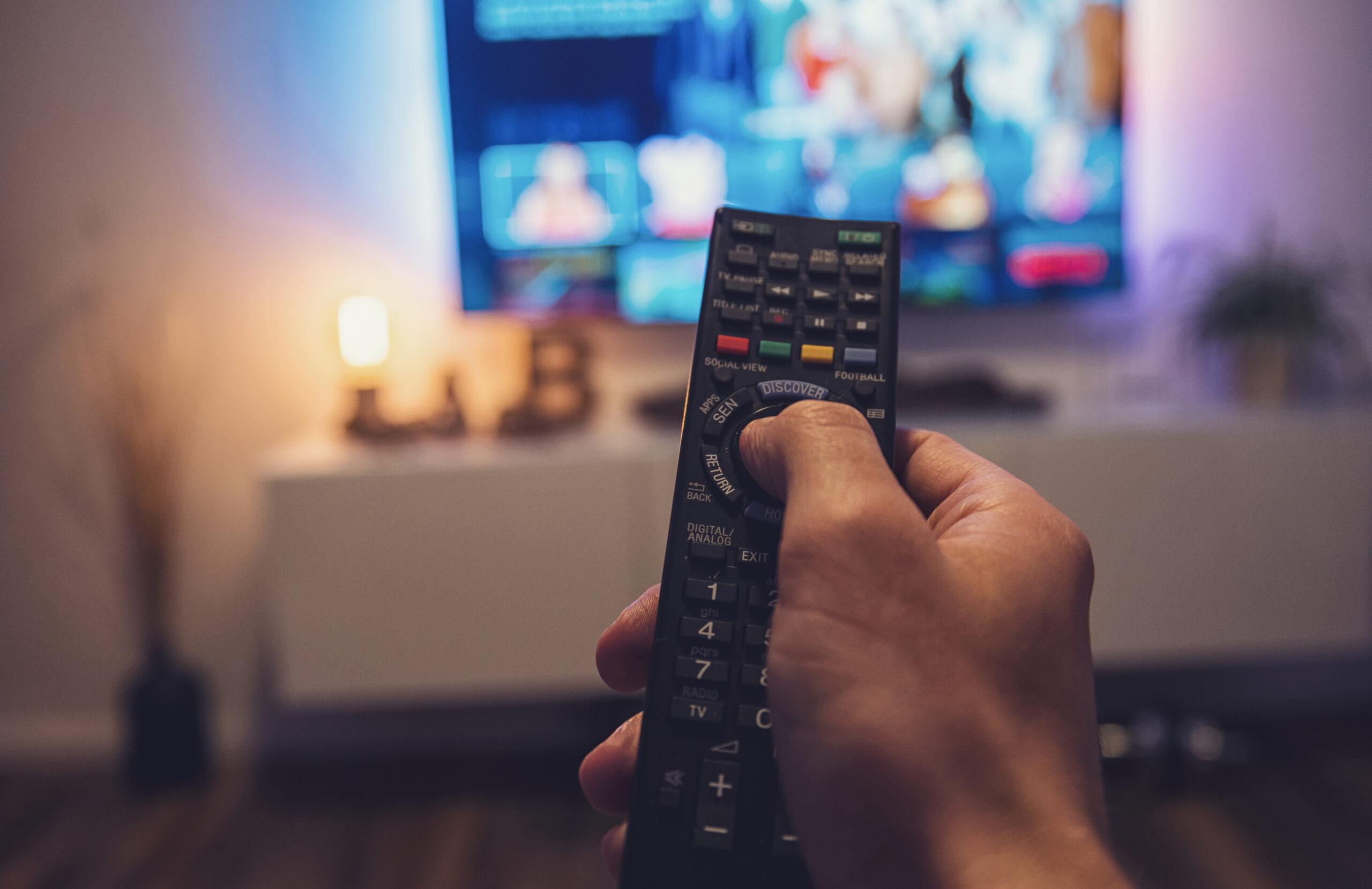テレビやパソコンの位置に気を付ける