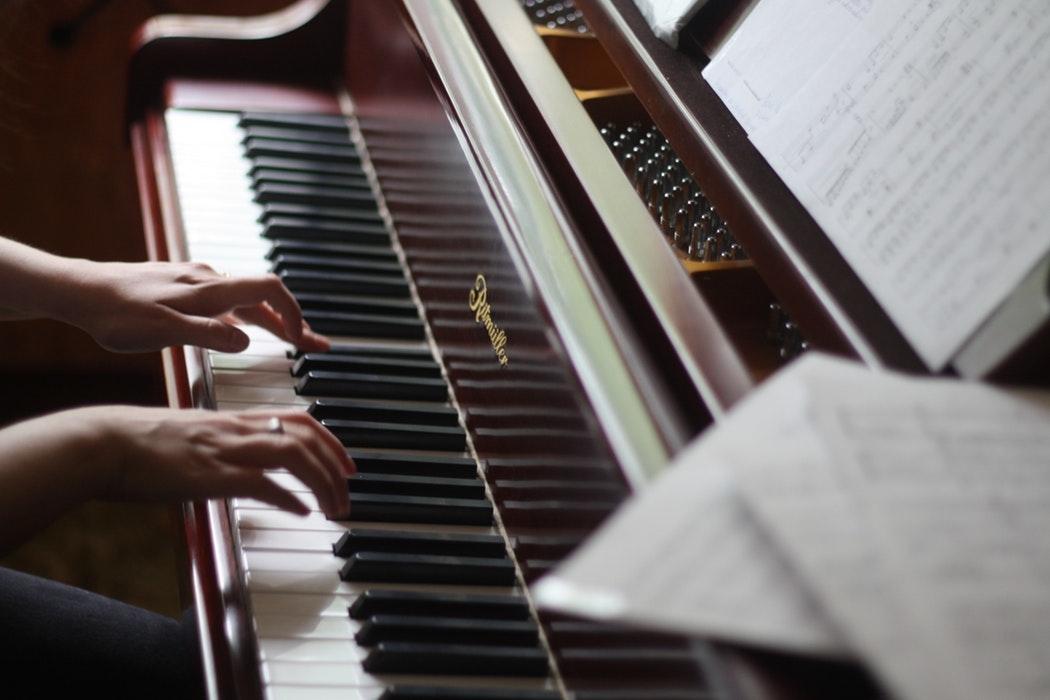 ピアノがいろいろなことを教えてくれたんだ