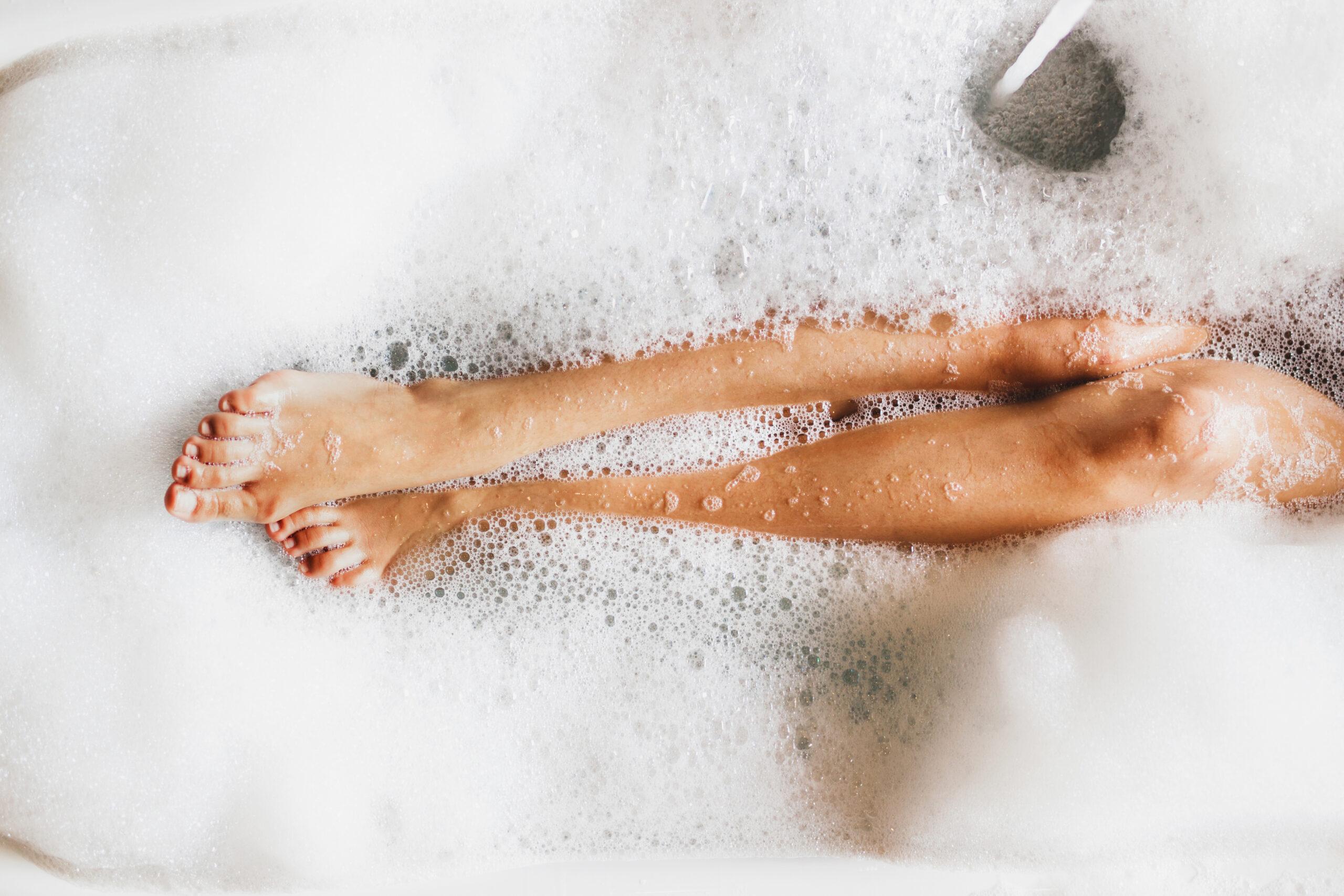 筋肉+脳の疲れ→全身浴