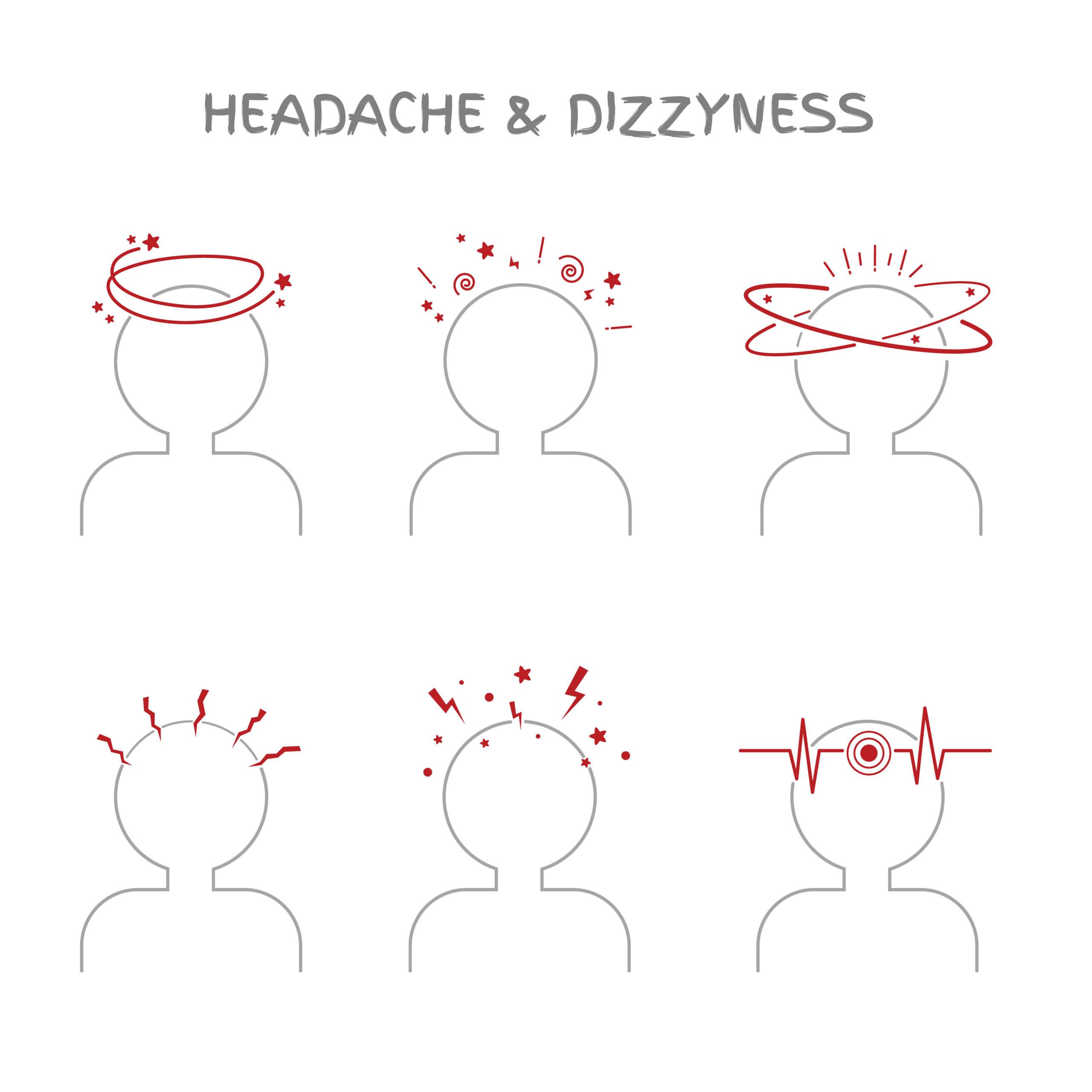 ▷頭痛や吐き気を伴う