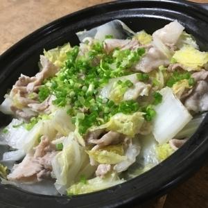 白菜と豚のタジン鍋