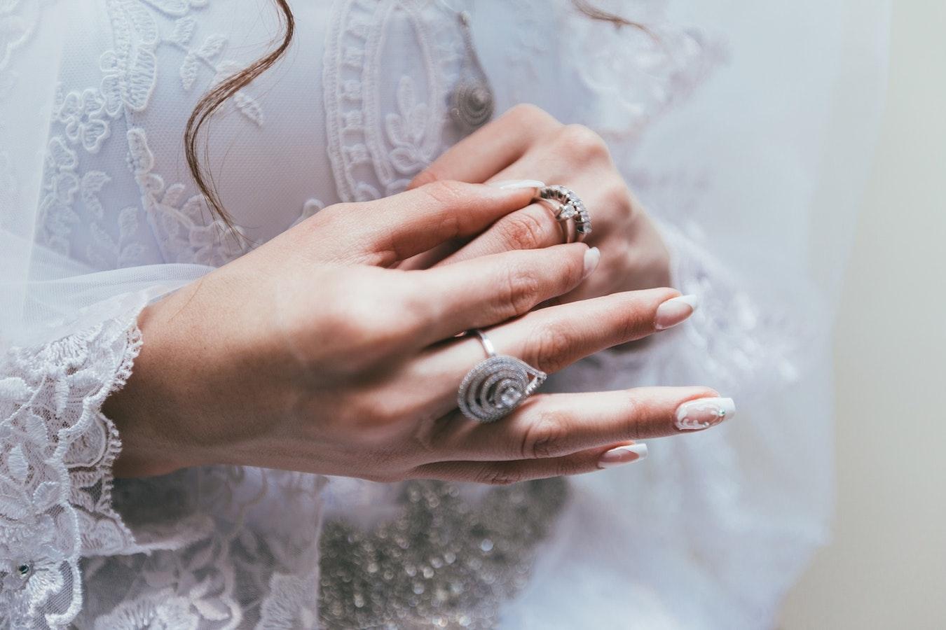指輪を引っかけない