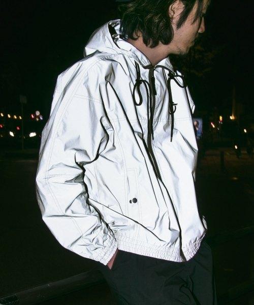 Reflector Hooded Jacket