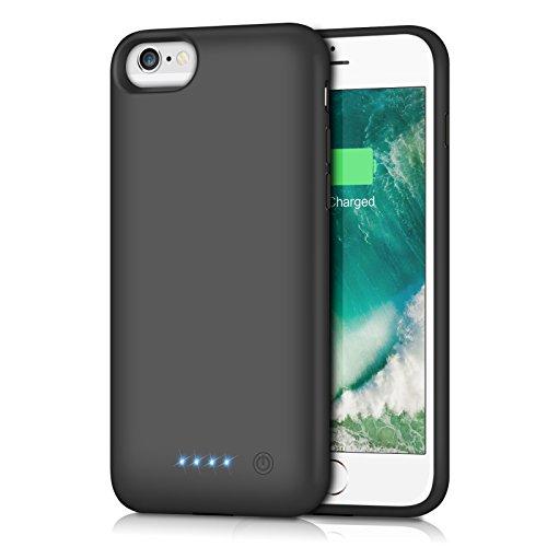 iPhone6/6s/7/8 対応 バッテリー内蔵ケース 6000mAh
