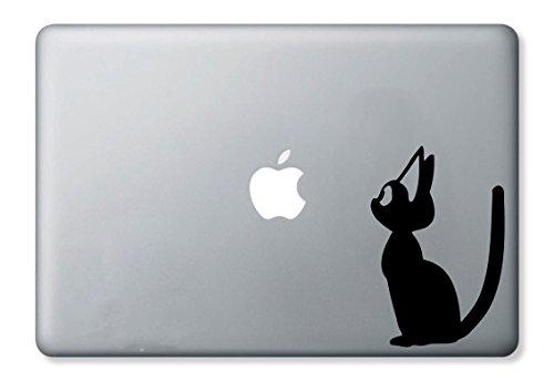 黒猫ステッカー MacBook 対応
