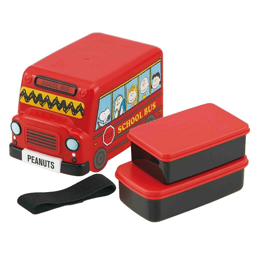 バス型ランチボックス スヌーピー
