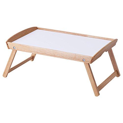 IKEA ベッドトレイ ゴムノキ