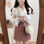 ピンクスカートコーデ24選♡乙女が大好きなピンク×スカートを纏ってお洒落なレディに
