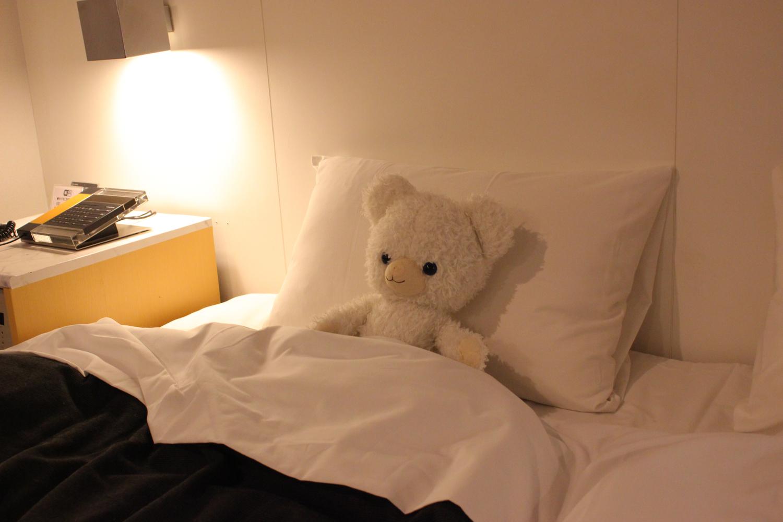 眠る前に、さっとプッシュ