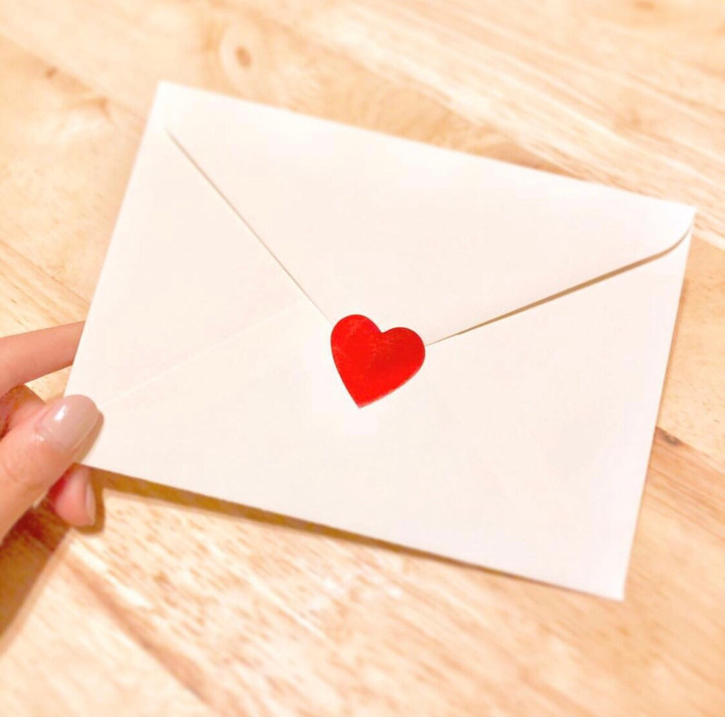 恋愛に変換▷▶ラブレター/連絡を取る段階
