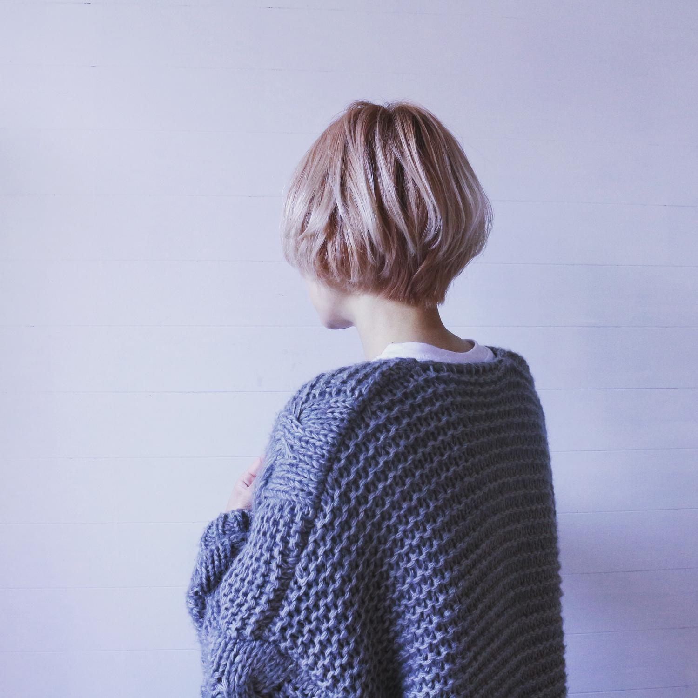 黒髪→派手髪にチャレンジ?