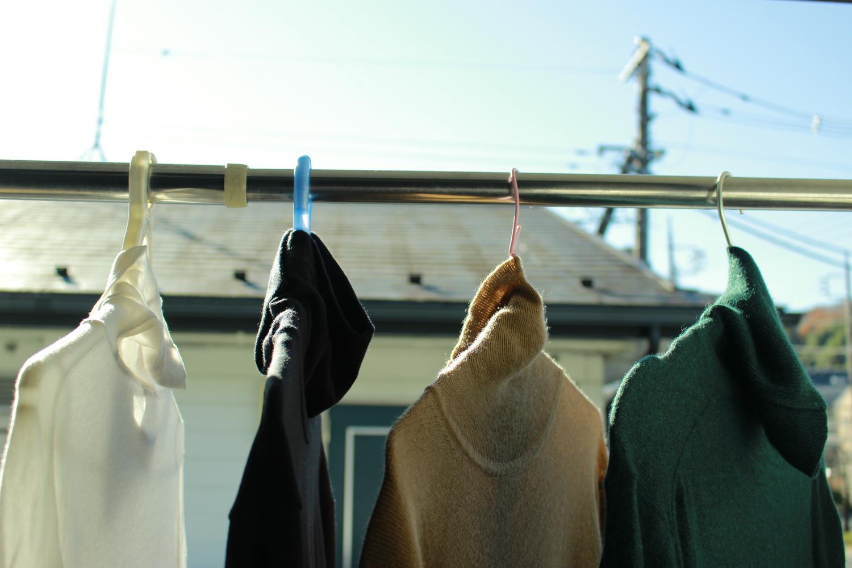 ⑤洗濯後は放置せず、すぐに干す