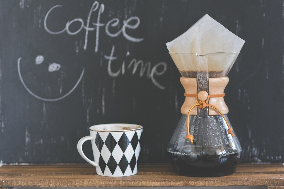 抽出したコーヒーを入れておく「コーヒーサーバー」