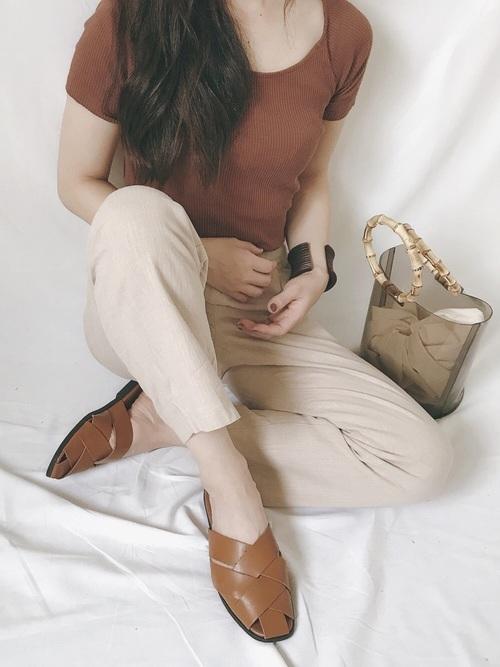 |terracotta×beige * clothes
