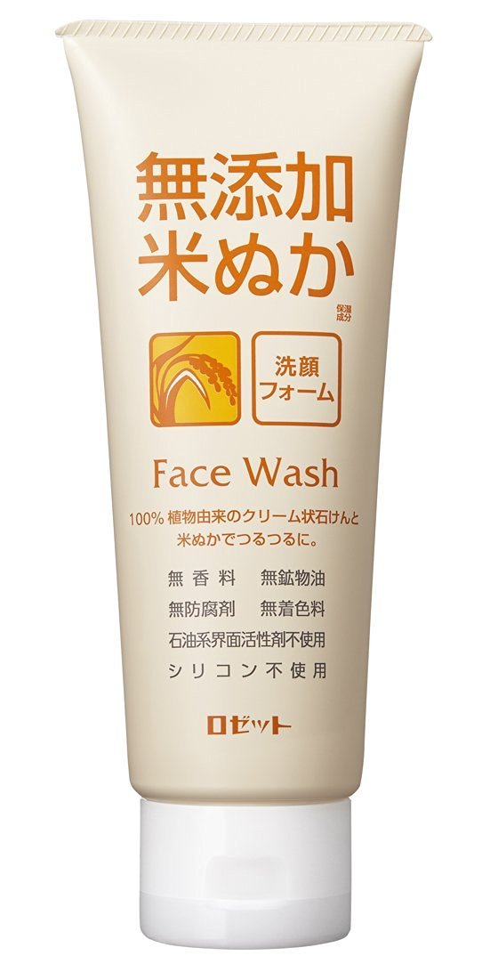 ROSETTE 無添加米ぬか洗顔フォーム