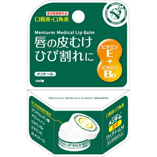 メンターム 薬用メディカル リップバームM【指定医薬部外品】