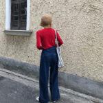 超ド定番のネイビーカラーのパンツお手本コーデ15選!これなら私も着こなせるかも♡