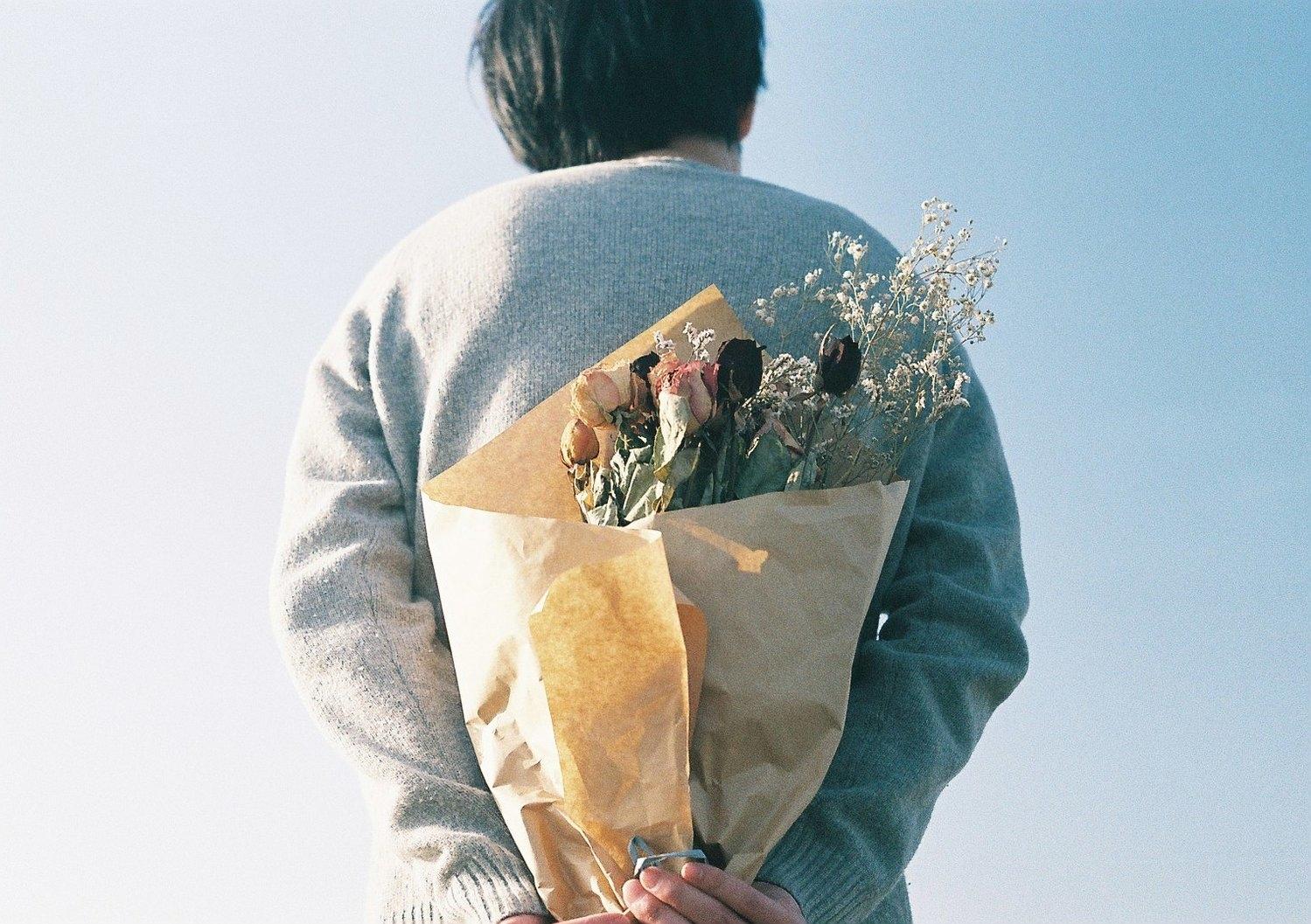 毎週花束をプレゼント