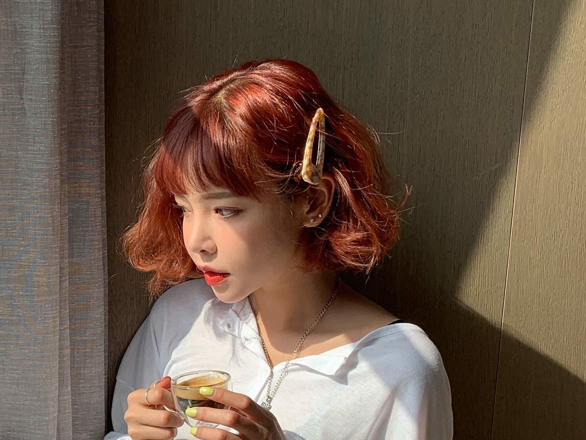 韓国風のヘアスタイルにしたいけど