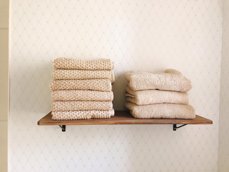 step_5:清潔なふわふわタオルで拭く