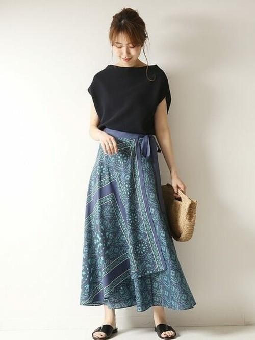 ○ラップスカート