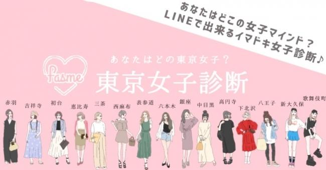 あなたのマインドはどの「東京女子」?