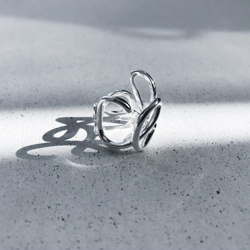 silver925 ring-558