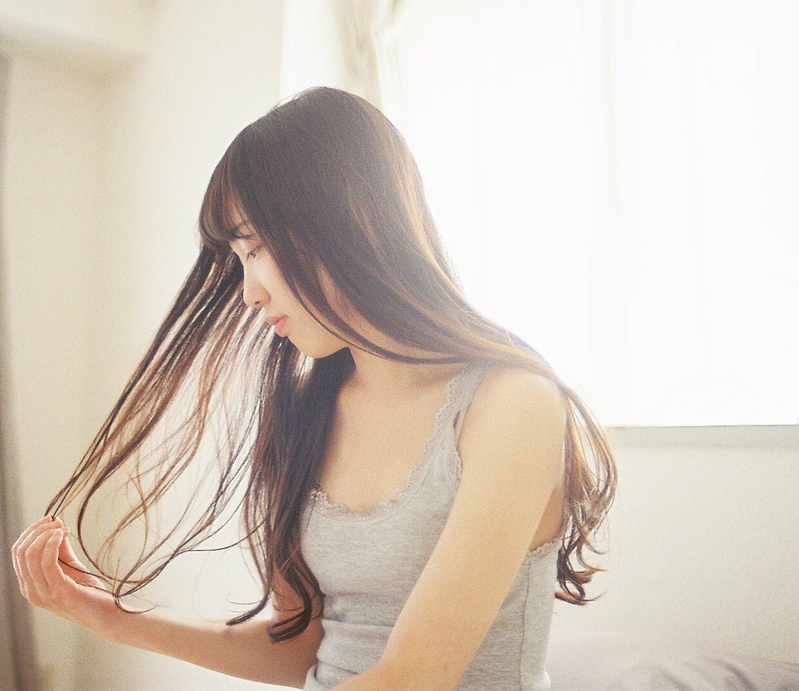 自然の恵みでついつい触れたくなる髪に♡