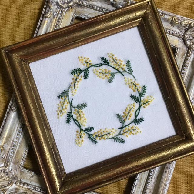 1:フランス刺繍
