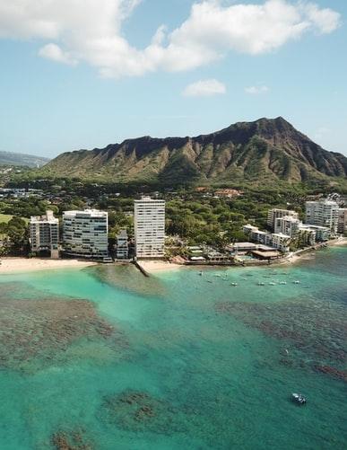 ハワイに行った気分に