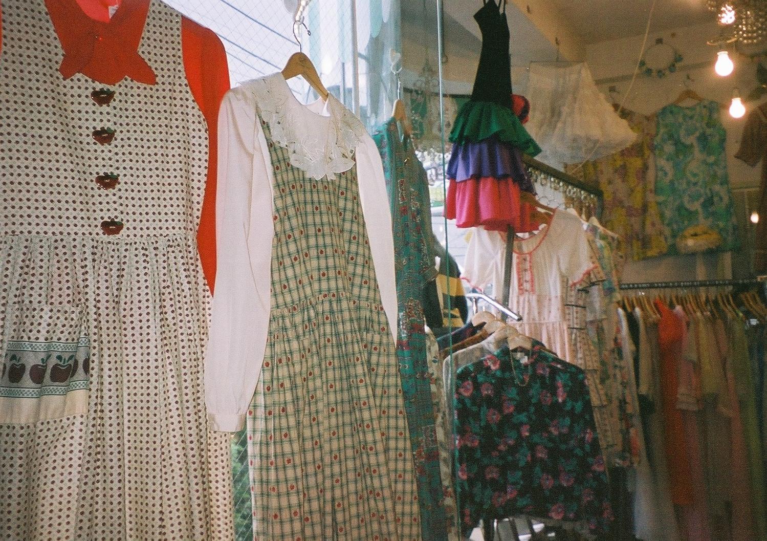 衣:ファッション…「この服欲しい!」