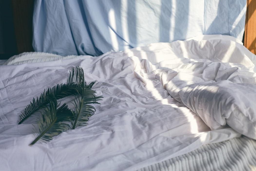 寝心地の良い寝具を用意する