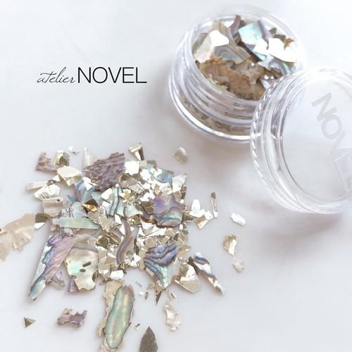 Jewelry shell flake mix