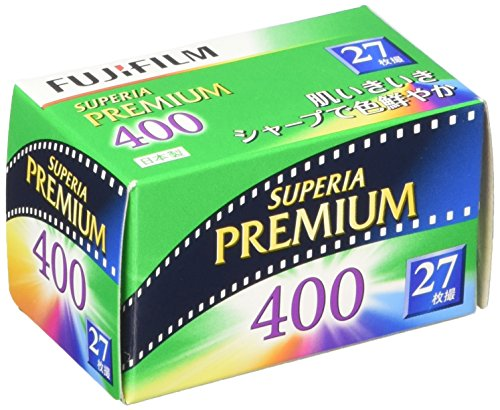 FUJIFILM フジカラー SUPERIA PREMIUM 400 27枚撮り